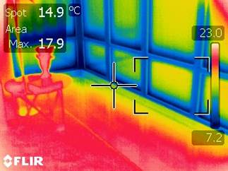 Window Thermographic Scan