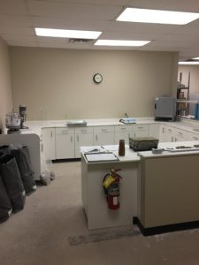 geotechnical services interior office picture