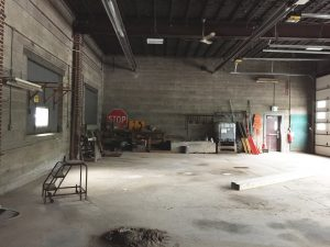 Abandoned Brownfield Building