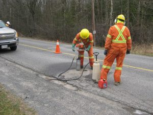 Geotechnical Investigations on Pavement