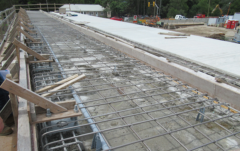 Forming and Pouring of Supermodule Deck